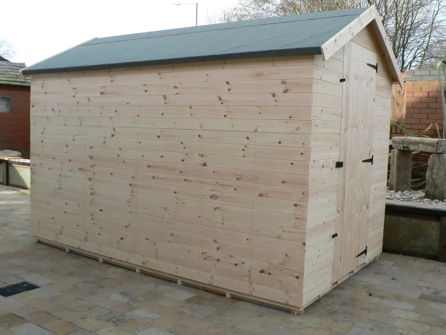 10' X 6' Apex Shed No Windows