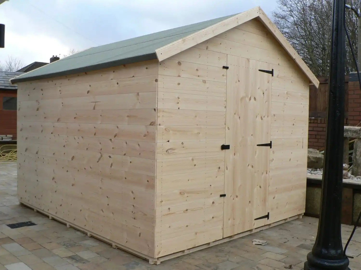 10' X 8' Apex Shed No Windows