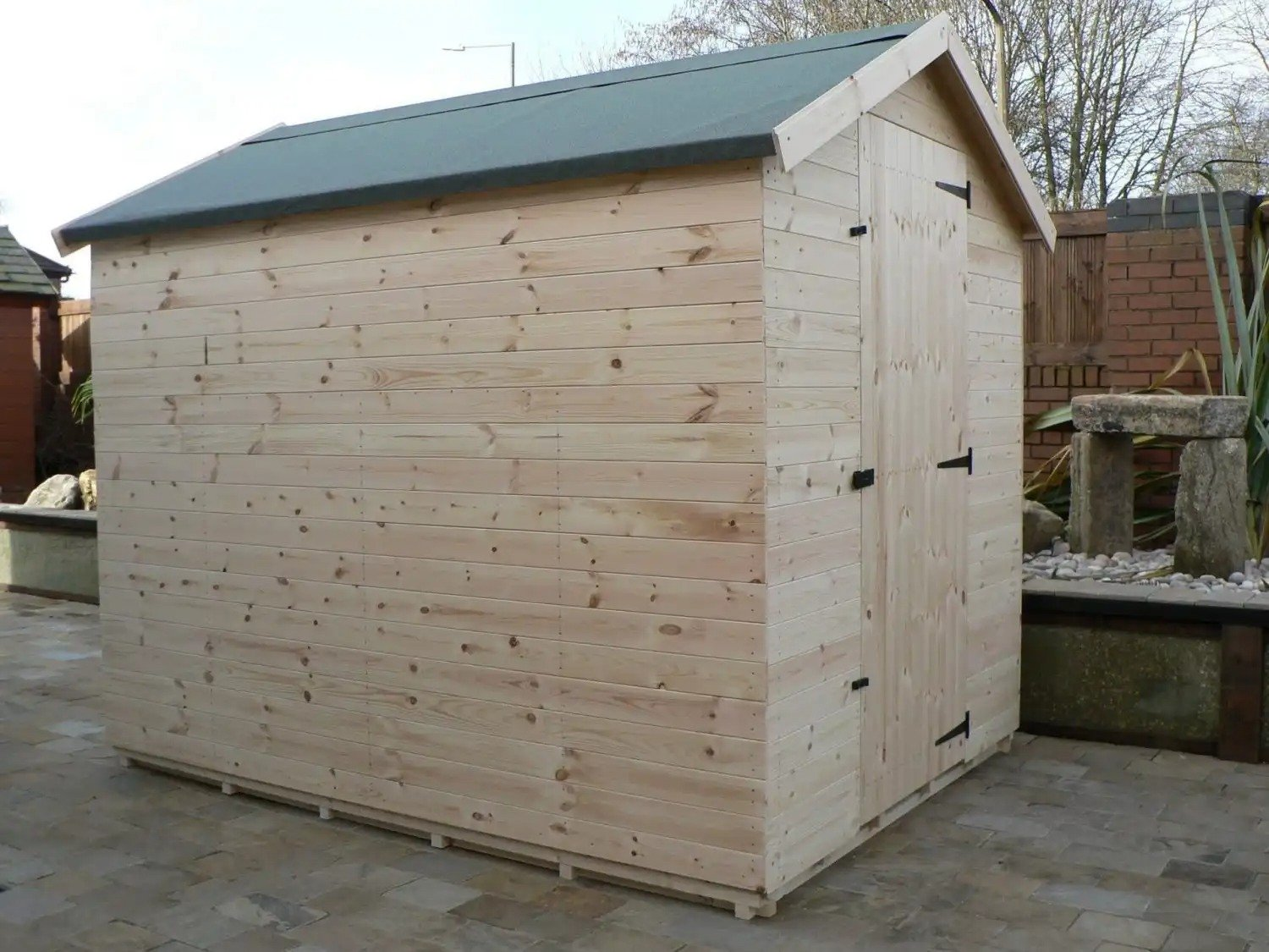 8' X 6' Apex Shed No Windows