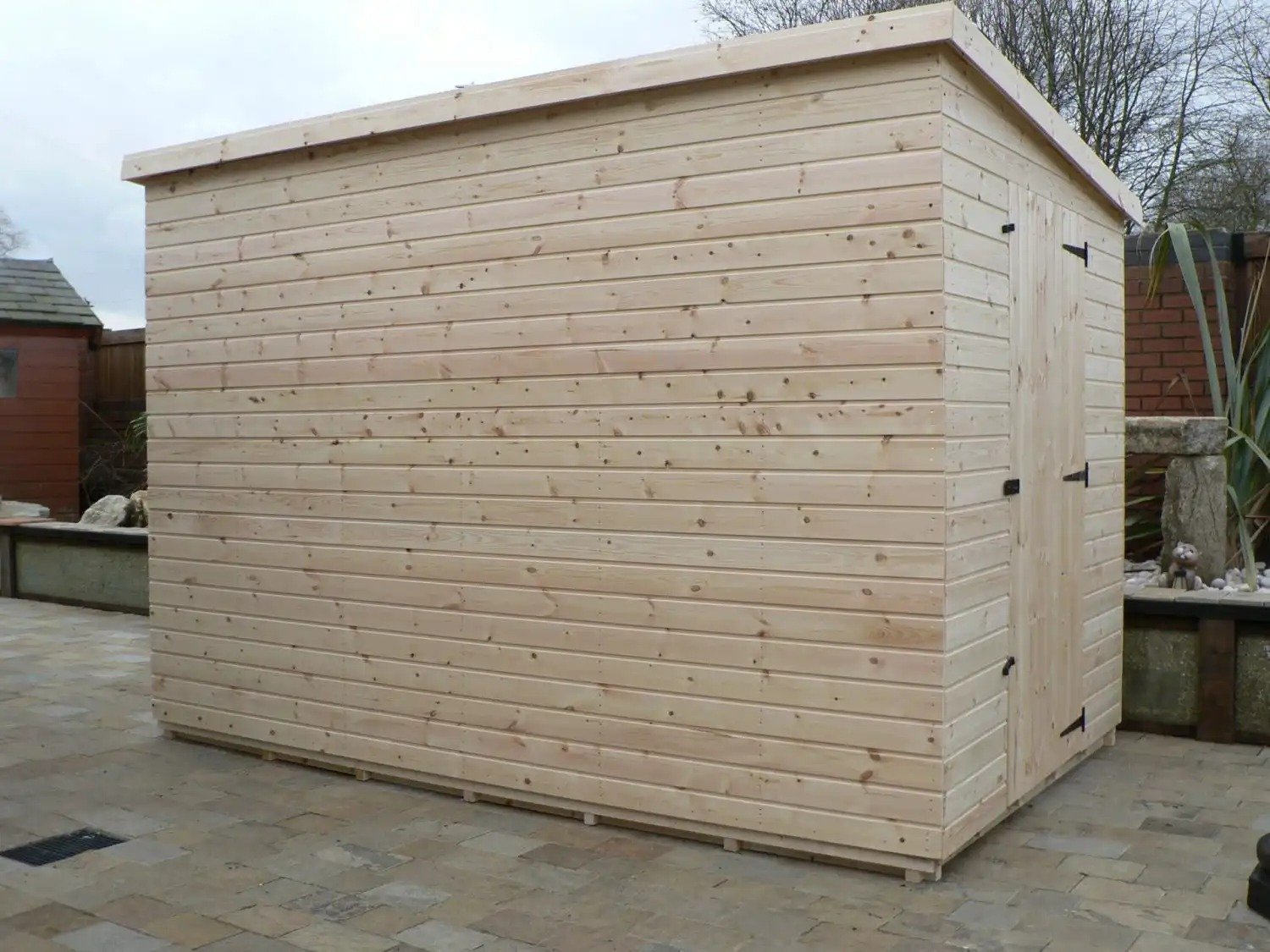 10' X 6' Pent Shed No Windows
